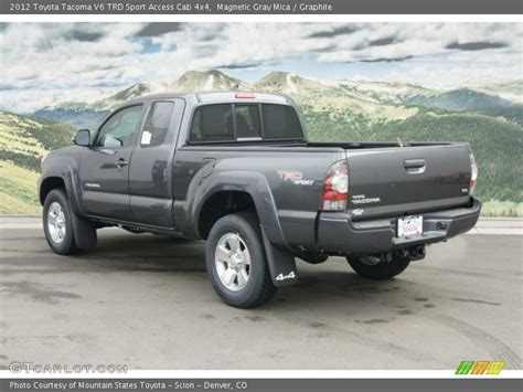 2012 Toyota Tacoma Trd Sport 2012 Toyota Tacoma V6 Trd Sport Access Cab 4x4 In Magnetic