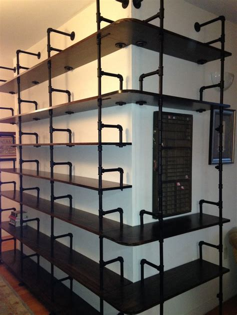 501 best images about industrial pipe shelves on