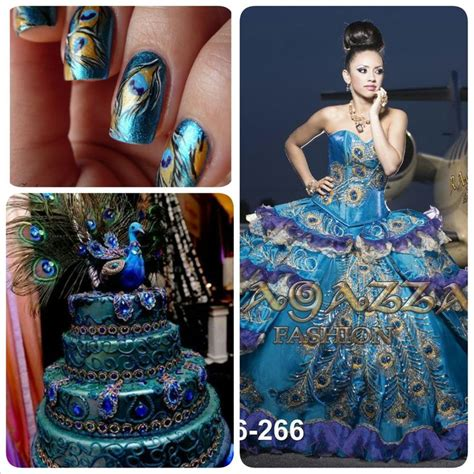 peacock themed quinceanera dresses peacock dress peacock nails peacock cake peacock
