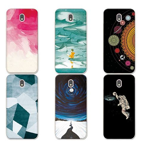 Soft Black Samsung Galaxy J5 Pro J530 Silicone for samsung galaxy j5 2017 j530 j5 pro 2017 phone universe planets silicone cover