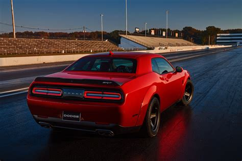 dodge challenger demon the 840hp dodge challenger srt demon is here