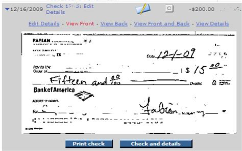 exle of written check check exle fill out images