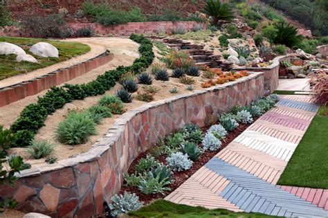 Landscaping Ideas For Sloping Gardens Landscaping Ideas For Landscaping Sloping Gardens