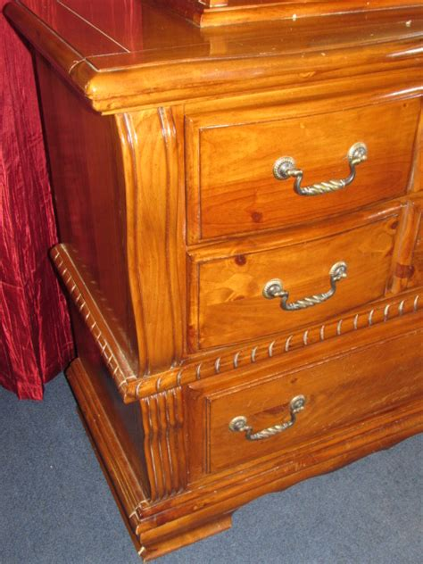 dresser with hutch top mirror lot detail beautiful ladies dresser with mirror hutch top