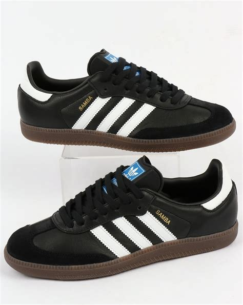 adidas samba og adidas samba og trainers black white gum shoes leather