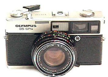 Kamera Analog Rangefinder Olympus 35 Spn olympus sp