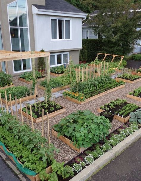 backyard raised bed vegetable garden grow boxes the garden method pinterest gardens