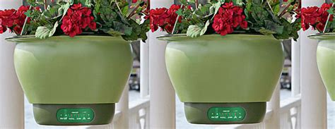 Smart Planters by Self Watering Smart Planter The Green