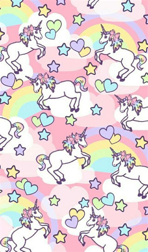cute unicorn pattern unicorn rainbow pattern find more kawaii android