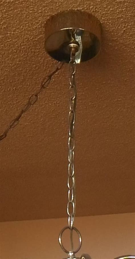 Shortening Chandelier S Chain Doityourself Com Community Chain Pliers For Chandelier Light Fixture