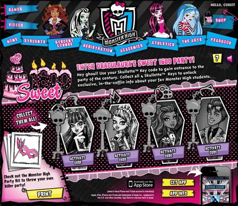 printable monster high student id cards 49 best monster high party images on pinterest monster