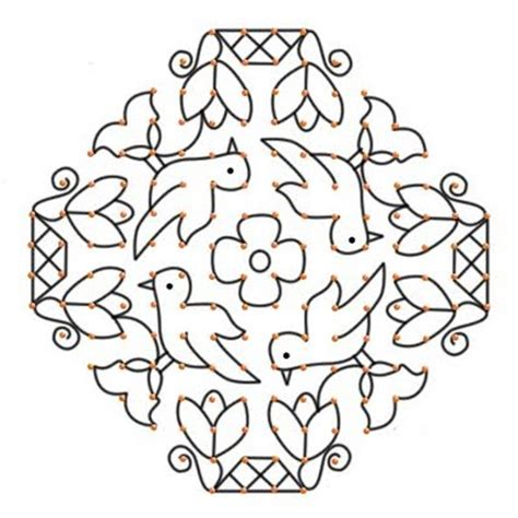 new design flower kolam with dots pongal dotted rangoli designs tufing com