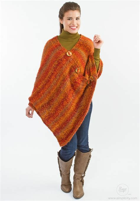 poncho pattern knitting yarn 17 best images about ponchos 2015 on pinterest shawl