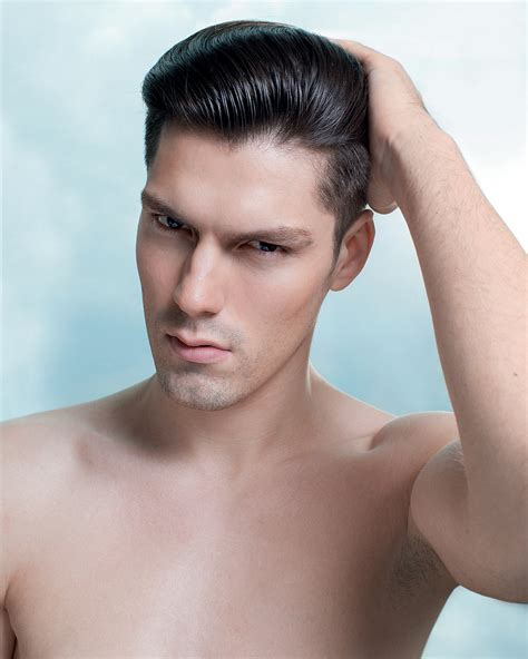 mens hairstyle no product the right products for men s hair da man magazine