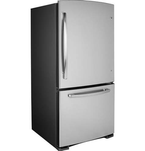ge refrigerator drawer replacement gde23gshss ge energy star 23 2 cu ft bottom freezer