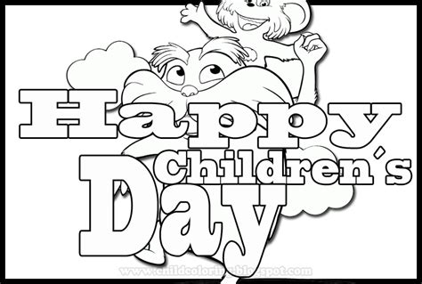 coloring page for s day childrens day coloring pages coloring