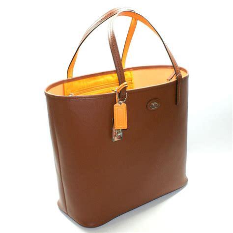 Coach Saddle Leather Large Tote Bag #32701   Coach 32701