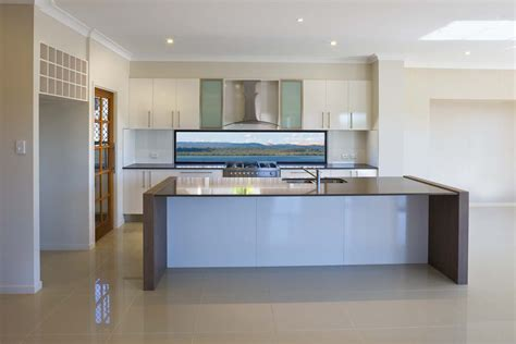 waterfront home kitchen design waterfront kitchen building designer and drafting brisbane