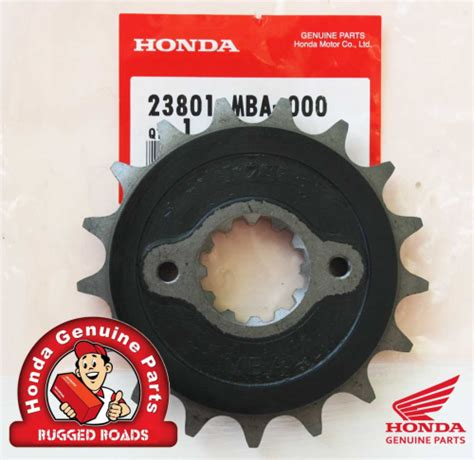 Mba Cus Drive by Oem Honda Front Drive Sprocket 17t For Rd04 07 07a