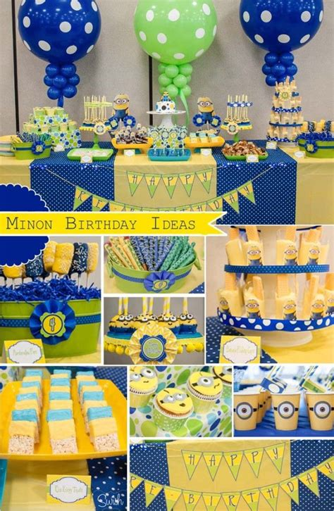 birthday themes minions 1150 best images about despicable me birthday party ideas