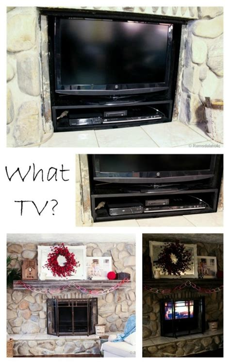 tv in front of fireplace tv in front of fireplace pictures best 20 fireplace