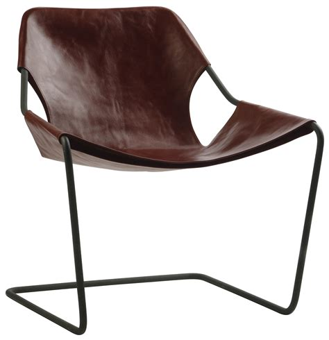 Paulistano Armchair by Paulistano Armchair Carbon Version Cognac By Objekto