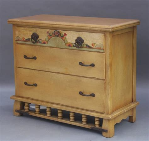 Monterey Dresser by 1930s Painted Monterey Dresser At 1stdibs