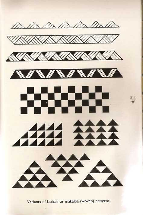 traditional hawaiian tattoo designs and meanings traditional hawaiian woven patterns for tattoos typically