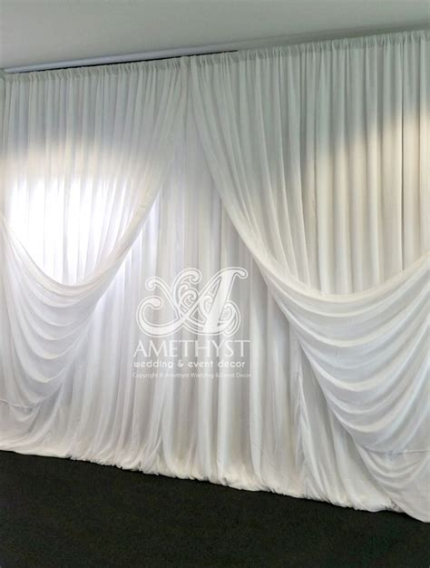 Criss Cross Curtains 62 Best Criss Cross Curtain Backdrops Images On Wedding Backdrops Tables And