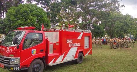 Satuan Alat Pemadam Kebakaran damkar siap sosialisasikan cara penggunaan apar totabuan co