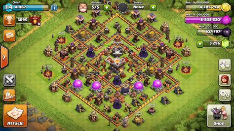 clash of clans town hall town hall 11 clash of clans www imgkid com the image