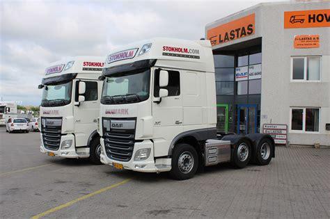 lastas trucks danmark a s lastas trucks danmark a s har leveret to daf xf 510 ftg