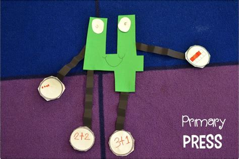 number crafts for these number crafts are great to assess number