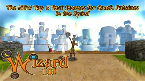 wizard101 couch potatoes wizard101 the new top 5 best couch potato sources in the