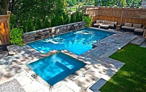 Pool In Small Yard Bullyfreeworld Com Best 25 Small Backyards Ideas