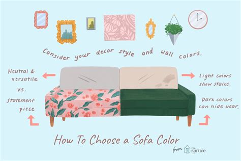 how to choose a sofa how to choose the right sofa color