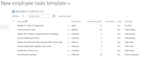 Onboarding Employees Using Sharepoint Workflow Dmc Inc Workflow Checklist Template