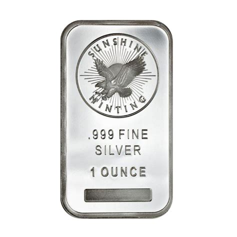 1 Oz Silver Price - 1 oz mint silver bar best prices on