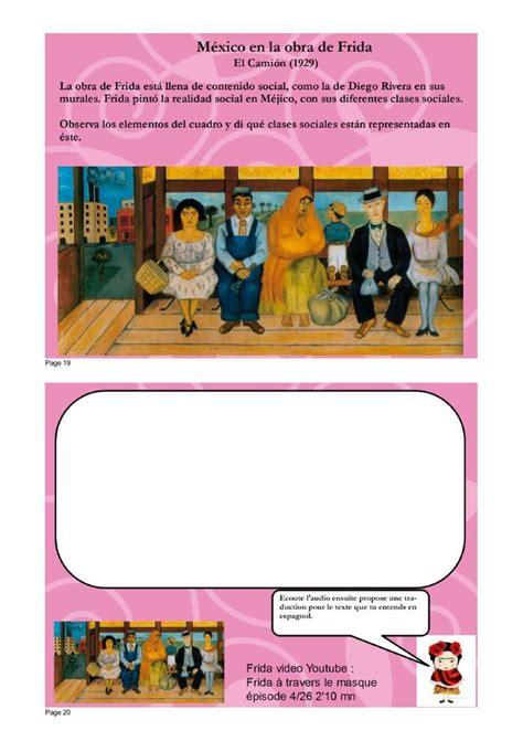 libro ba art kahlo espagnol les 42 meilleures images du tableau frida kahlo sur mexique cours avanc 233 s en