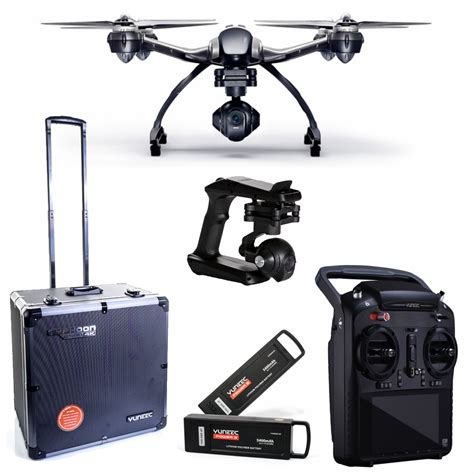 Yuneec Typhoon Q500 4k Drone With Bag 2 Batteries Wizard Kaos yuneec typhoon q500 4k drone kit hd rtf
