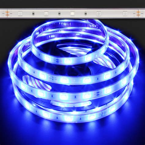 blue waterproof 5050 36w led light