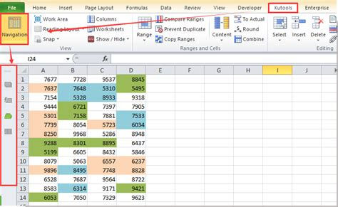 how to find named range reference in excel