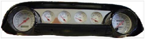 transmission control 1964 ford mustang instrument cluster 63 64 ford galaxie billet dash panel egaugesplus