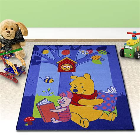 winnie the pooh teppich 133x95cm disney winnie pooh kinder teppich spiel