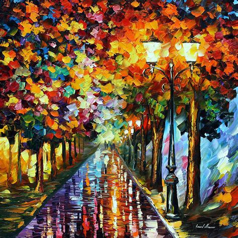 paint nite canvas size transformation of the palette knife painting