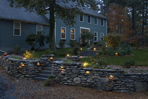 landscape wall lights artistic landscapes 187 retaining wall built with