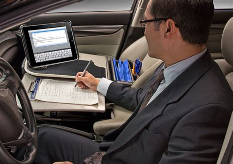 Mobile Office Car Desk Workstations Ideas Greenvirals Style Car Office Desk