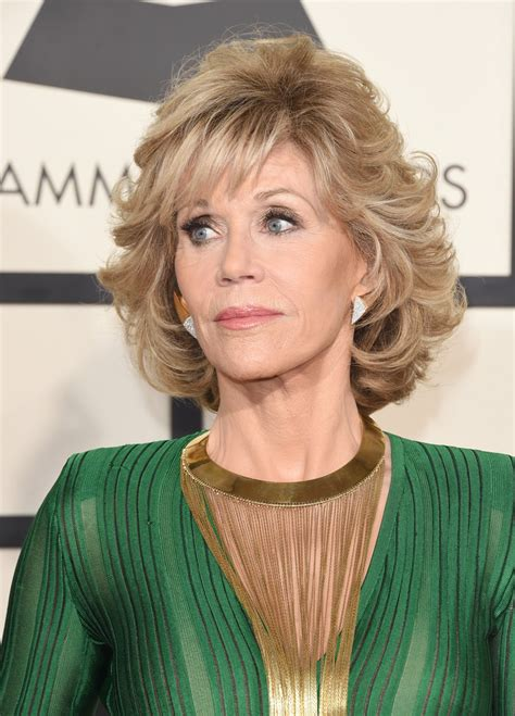 back of jane fondas hair jane fonda curled out bob bobs hair style and haircuts