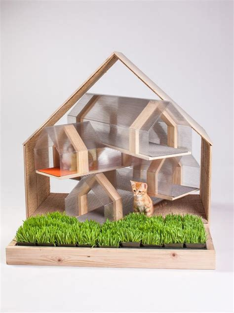 design works home is where the cat is designs for felines 12 cool cat houses hgtv