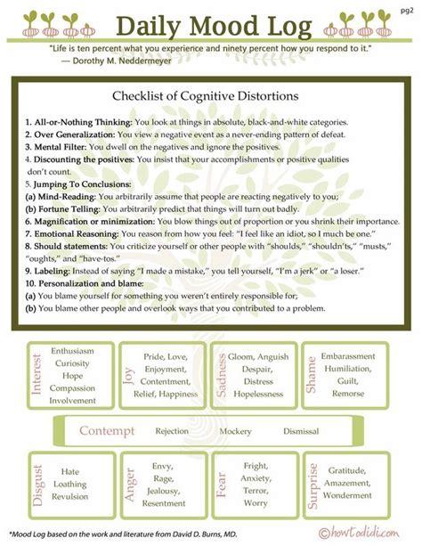 depression mood worksheets 779 best images about counseling worksheets printables